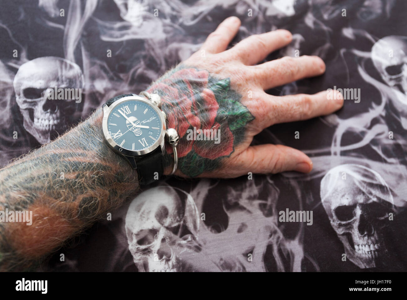 Tattoo Wrist Watch Stock Photos Images Blank Human Body Diagram Thomas Sabo And Tattoos Image