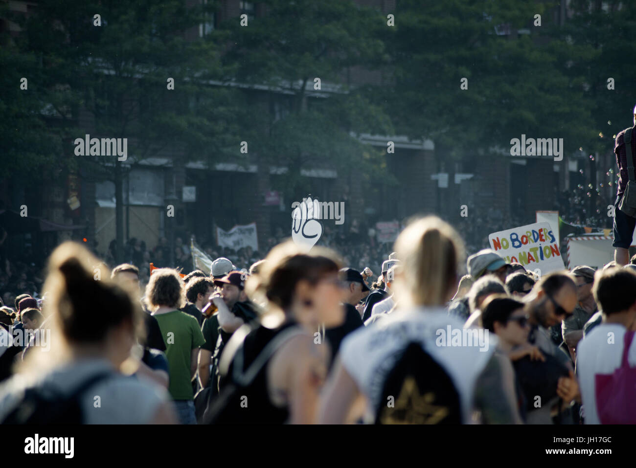 G20, Welcome to hell - Stock Image