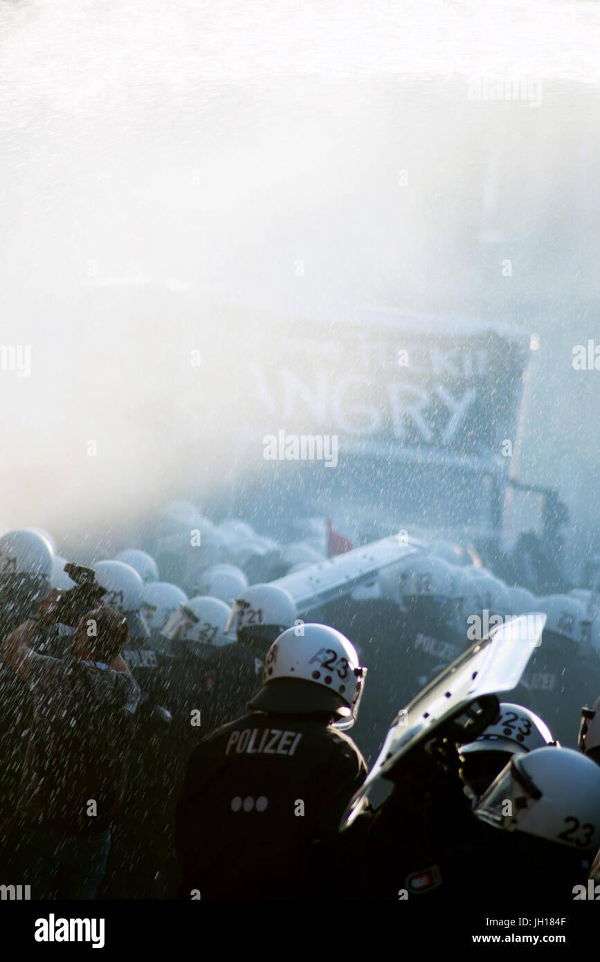 G20 Polizei - Stock Image