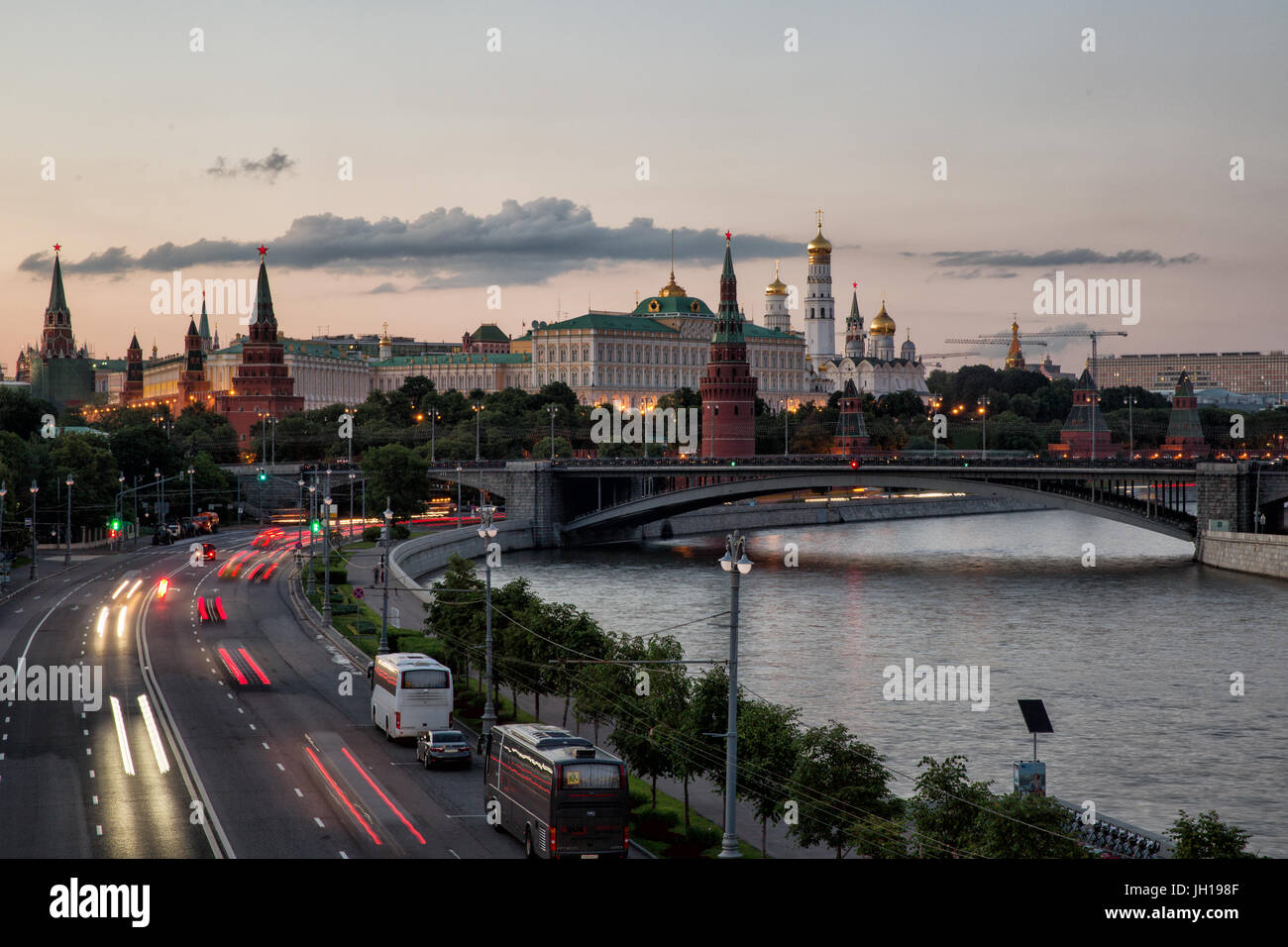 The Kremlin. Moscow. Russia - Stock Image