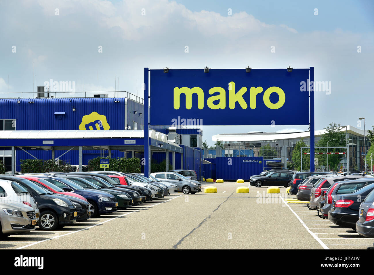 Makro wholesale store in The Netherlands - Stock Image