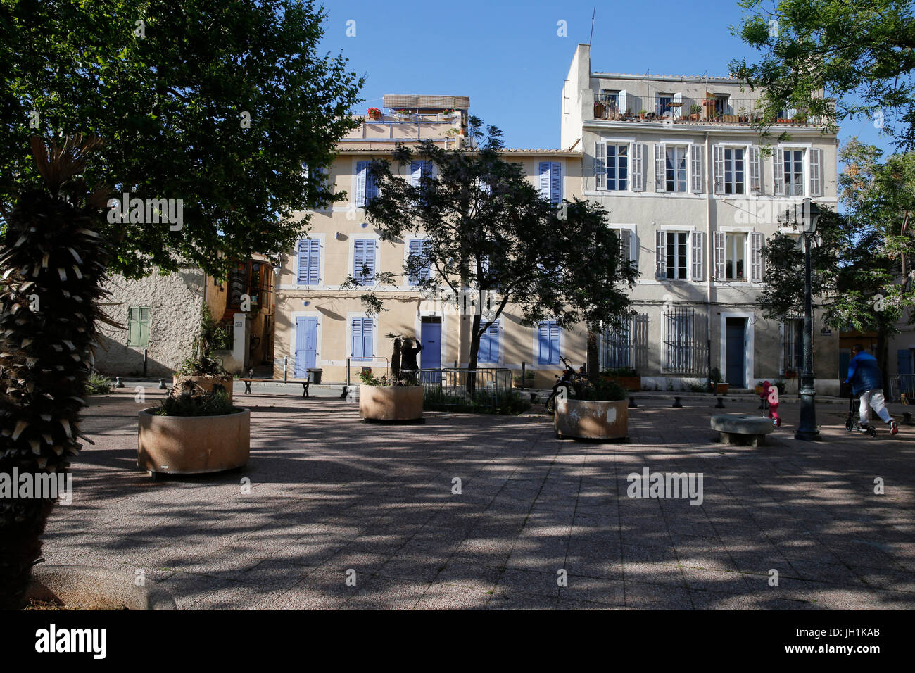 Le Panier neighbourhood in Marseille. France. - Stock Image