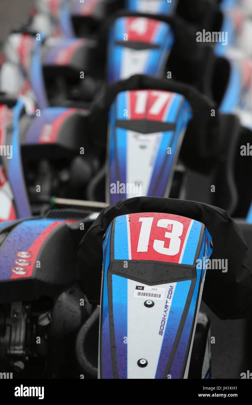 Go-karts. France. - Stock Image
