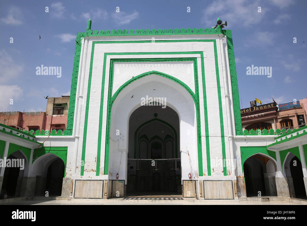 Ajmer Sharif dargah, Rajasthan. Akbar mosque. India. - Stock Image