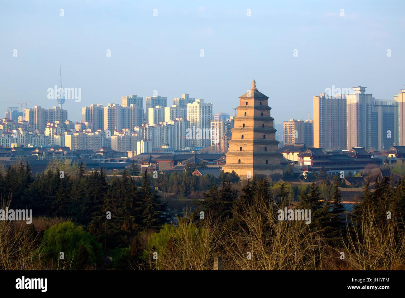 Xi'an,Shaanxi,China - Stock Image