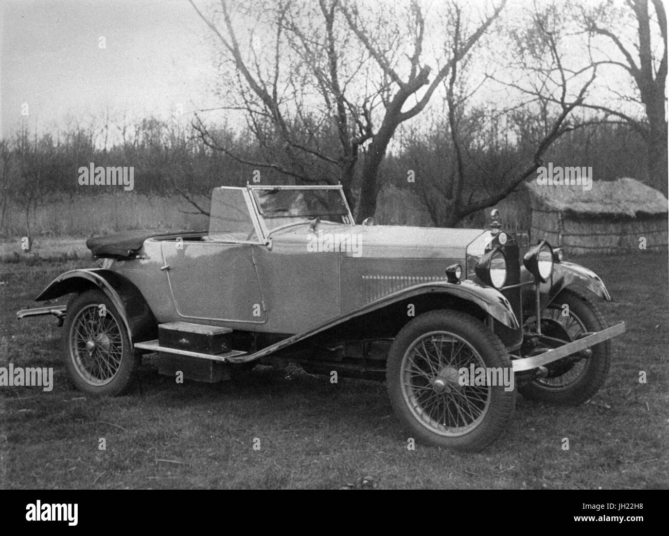 OM T665 sports possibly ESS 1927 - Stock Image