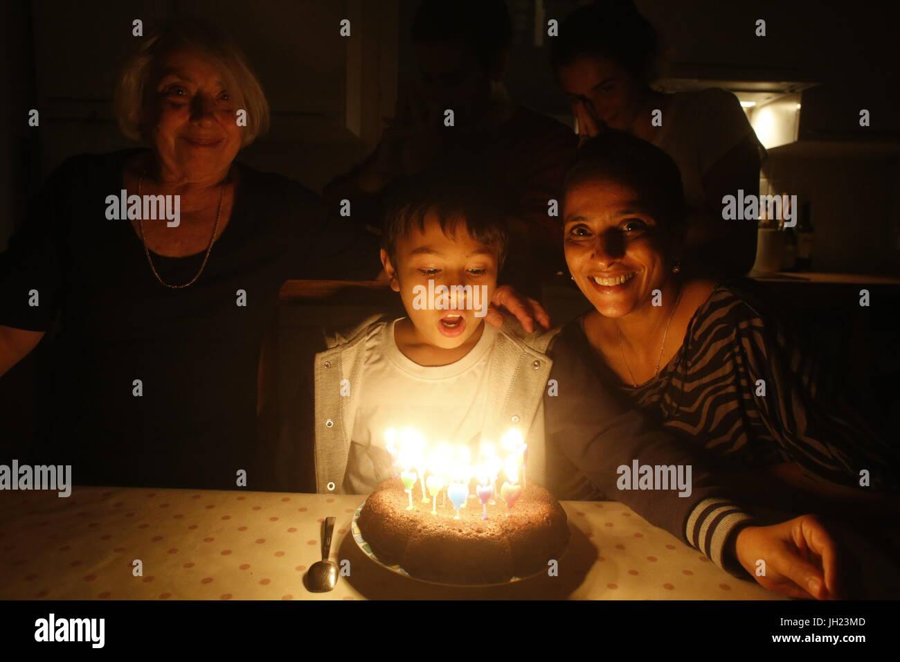 11 Year Old Birthday Cake Stock Photos & 11 Year Old