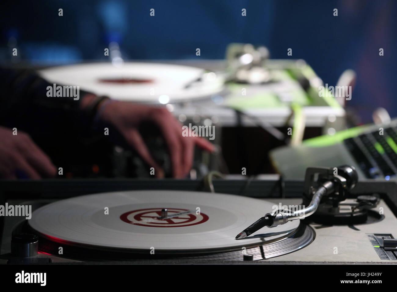Les Houches Reggae festival.    France. - Stock Image