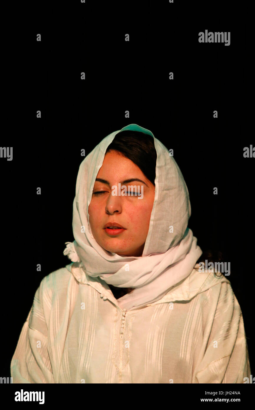 Alawiya sufi muslim. France. - Stock Image