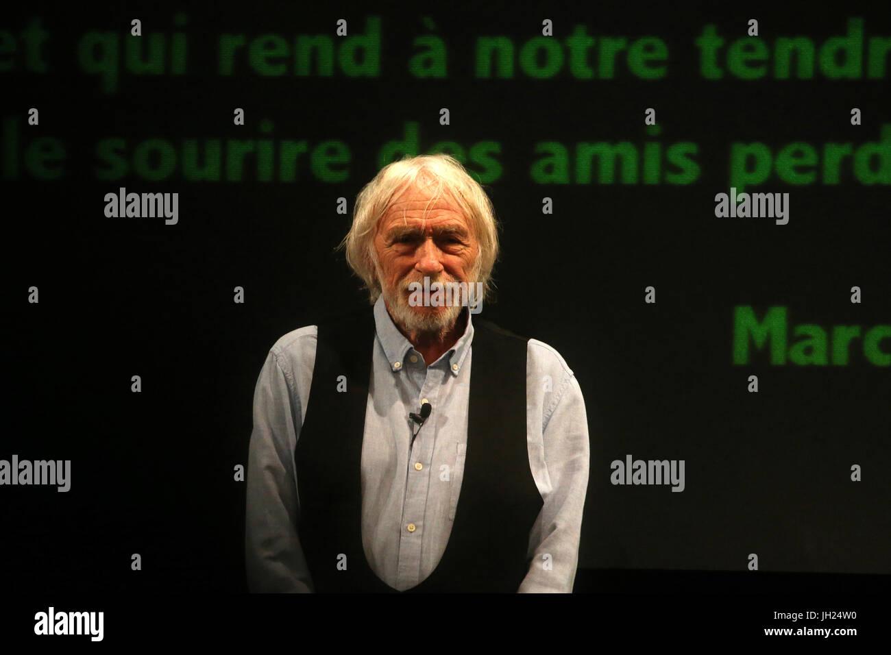 Pierre Richard. 32me Festival Mont-Blanc Humour. Saint-Gervais-les-Bains.  France. Stock Photo