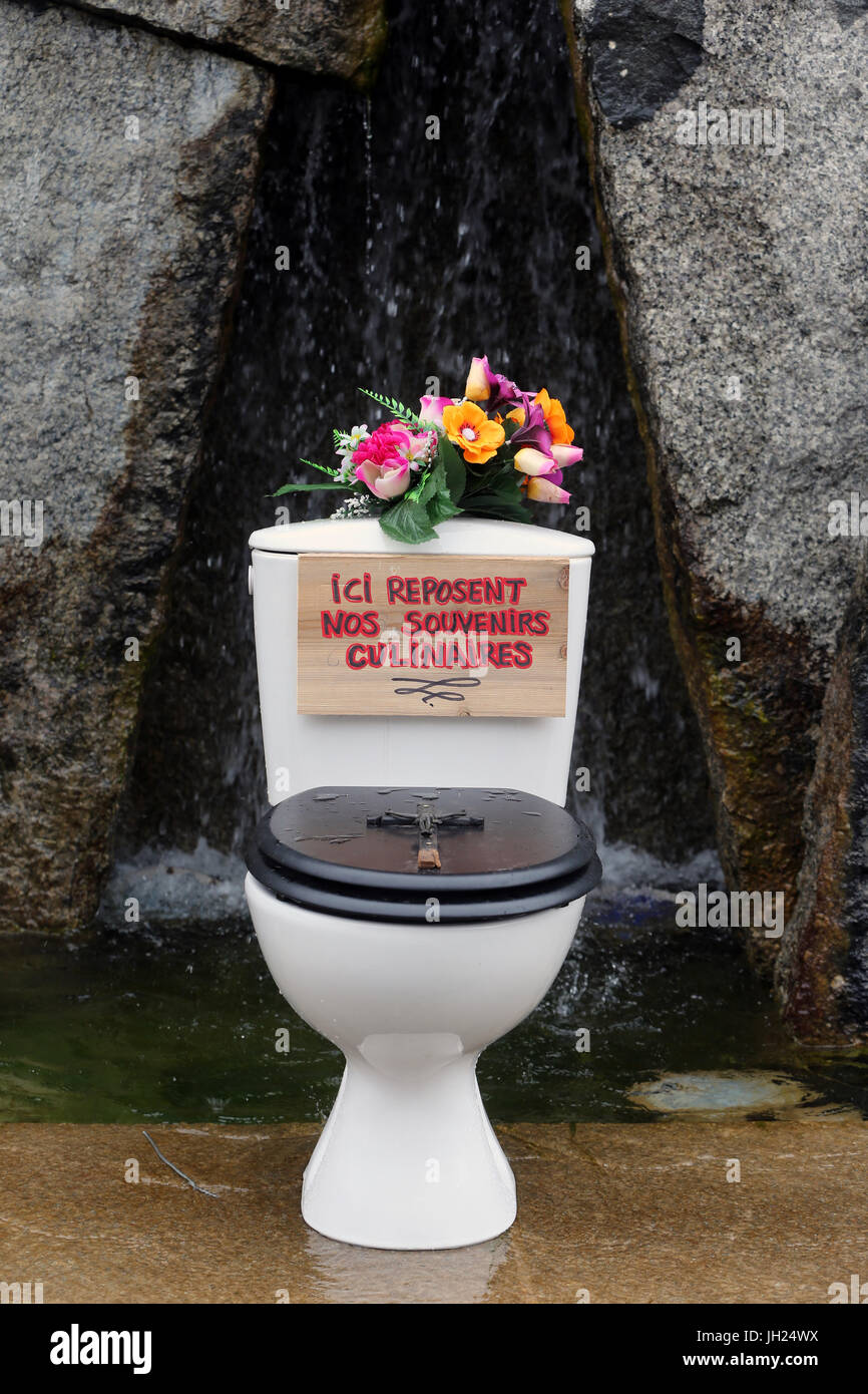 WC. Exposition. France. - Stock Image