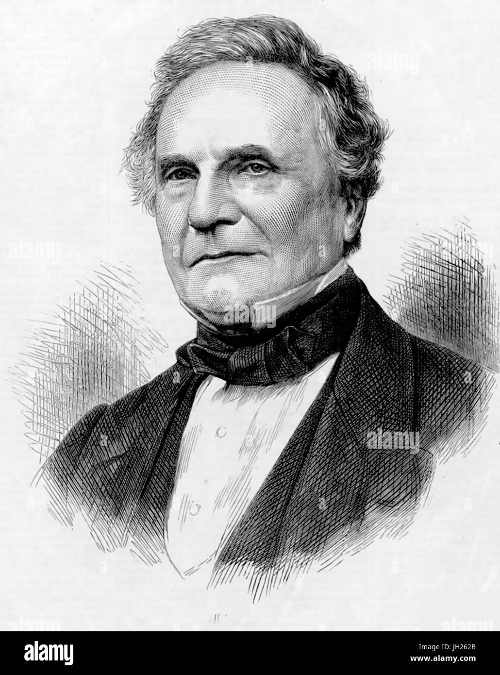 CHARLES BABBAGE (1791-1871) English mathematician and inventor whose concepts pre-dated computing - Stock Image
