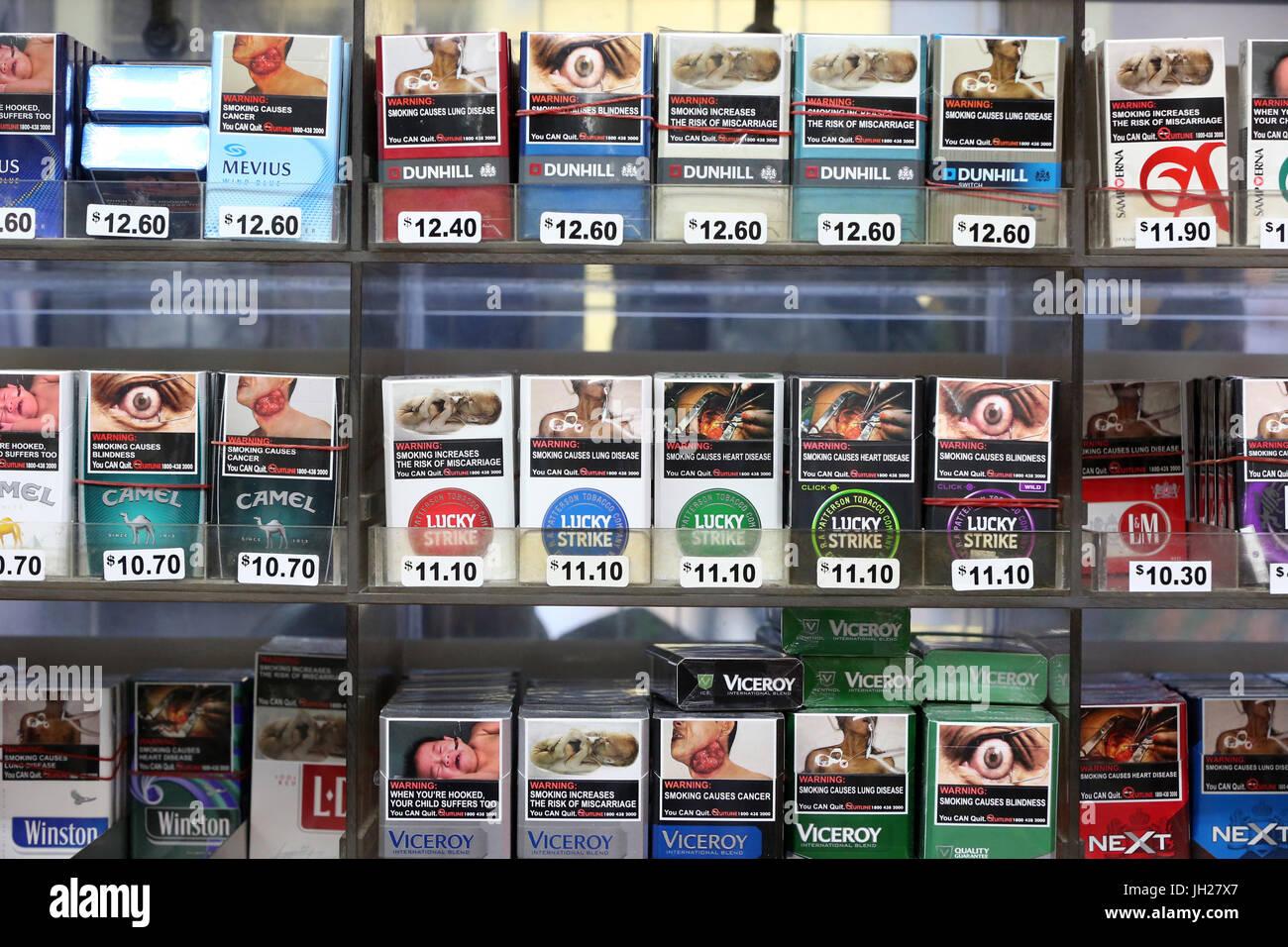 0fe83cc9cc Cigarettes for sale. Singapore Stock Photo: 148182223 - Alamy