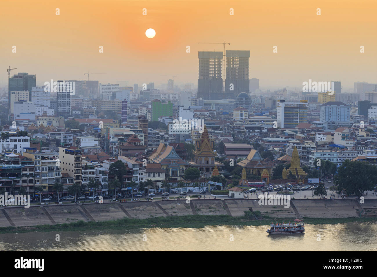 Phnom Penh, Cambodia, Indochina, Southeast Asia, Asia - Stock Image