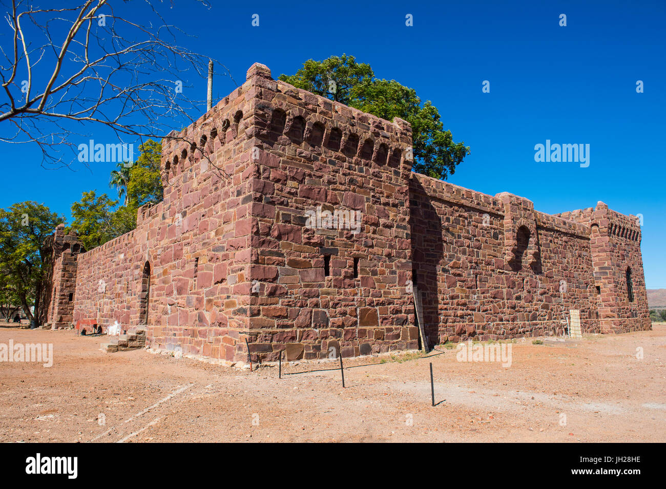 Duwisib Castle, central Namibia, Africa - Stock Image