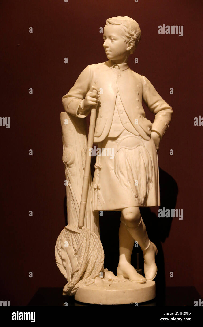 The Victoria and Albert Museum. Robert Jackson. Hon. Alexander Francis Henry Campbell. marble, about 1872. United - Stock Image