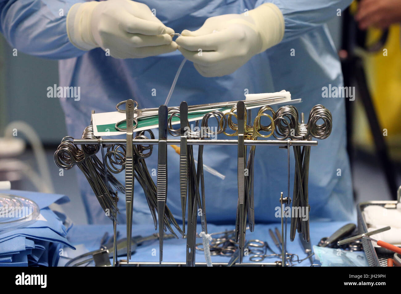 Operating theater  Cardiac surgery  Surgical instruments  Ho