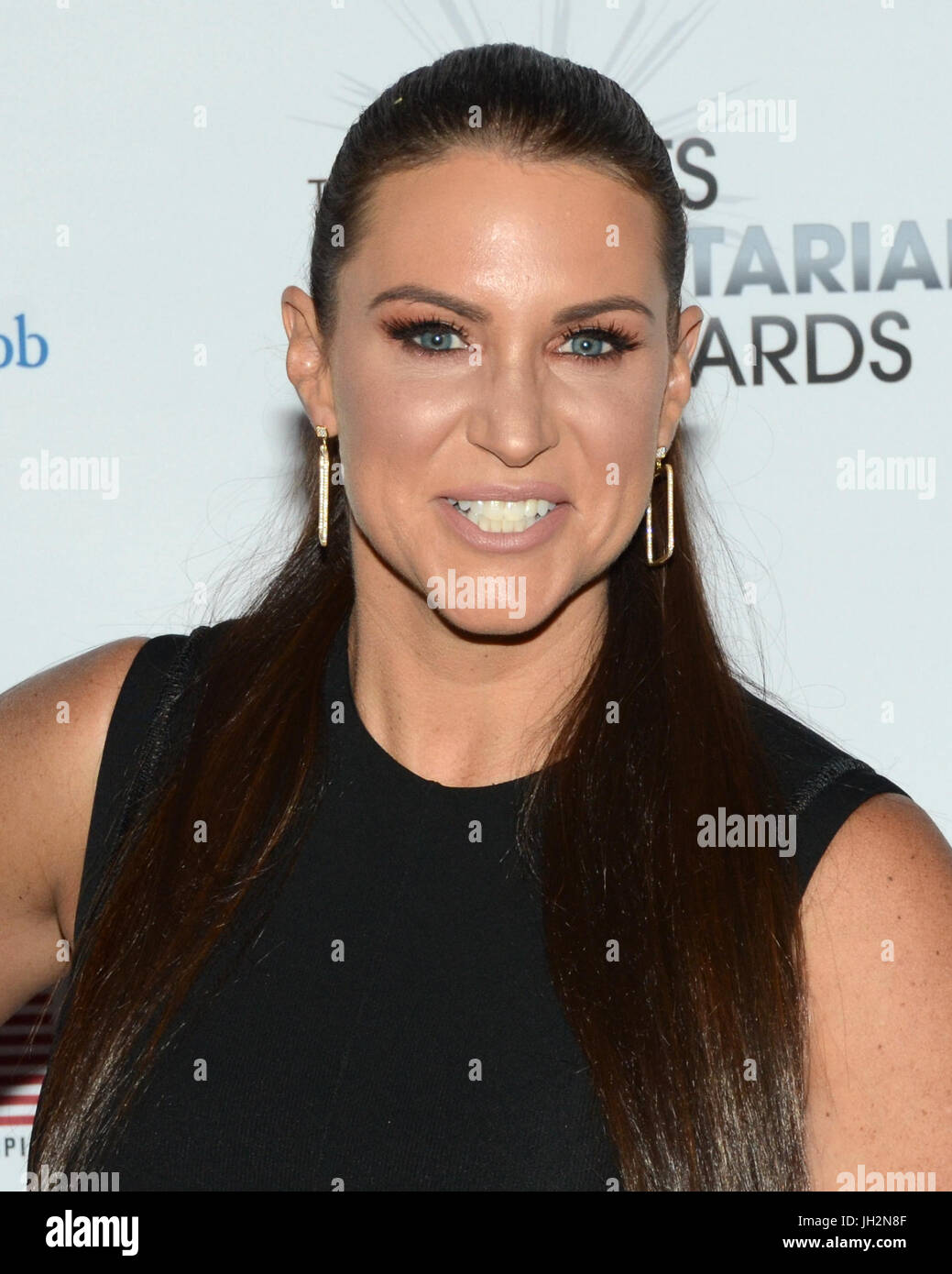 Stephanie McMahon attends 3rd Annual Sports Humanitarian Year Awards LA LIVE'S Novo Los Angeles July 11,2017. - Stock Image
