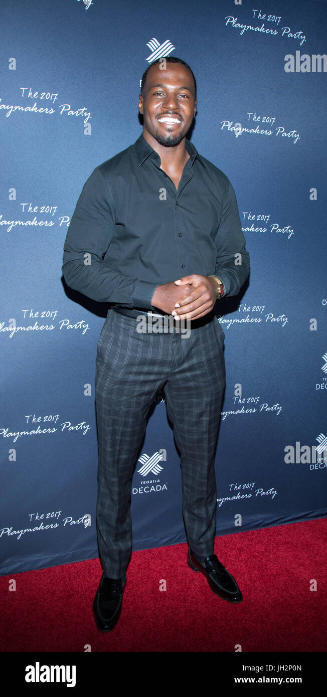 Fred Johnson attends 2017 Playmakers Party Viva Hollywood July 11,2017 Hollywood,California. Stock Photo