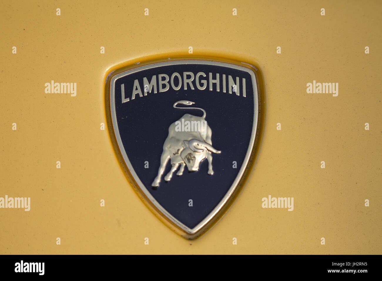 Lamborghini Logo Stock Photos Lamborghini Logo Stock Images Alamy