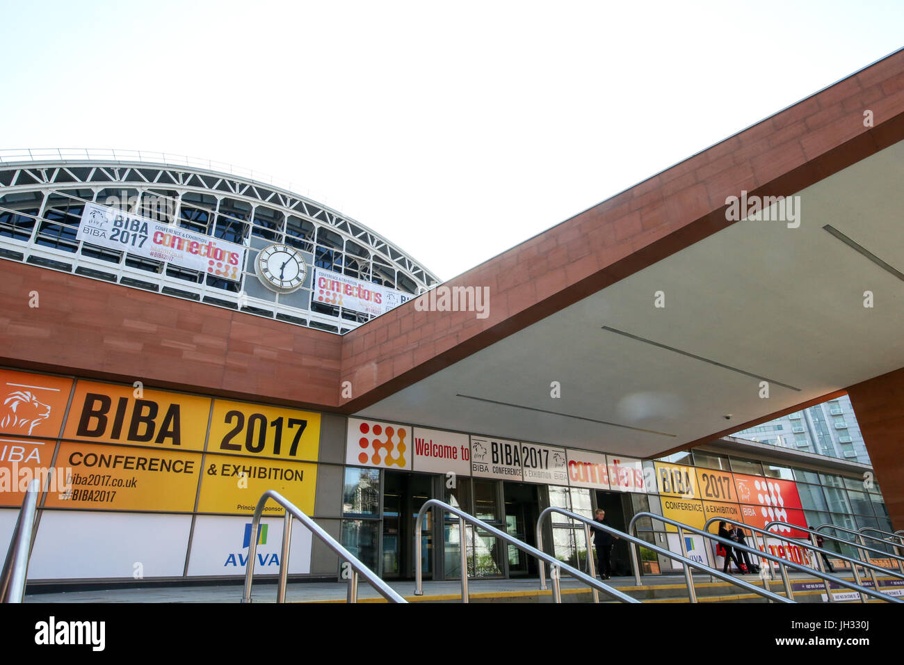 10th May, 2017. Manchester, UK. BIBA, the show for Insurance Brokers at Manchester Central. - Stock Image