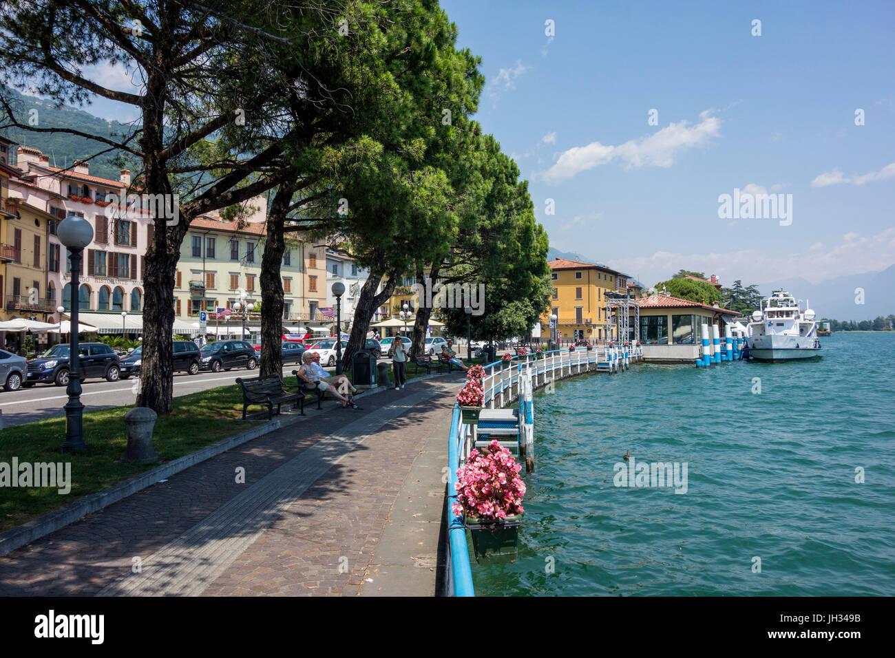 Lovere, Lago Iseo, Italy - Stock Image
