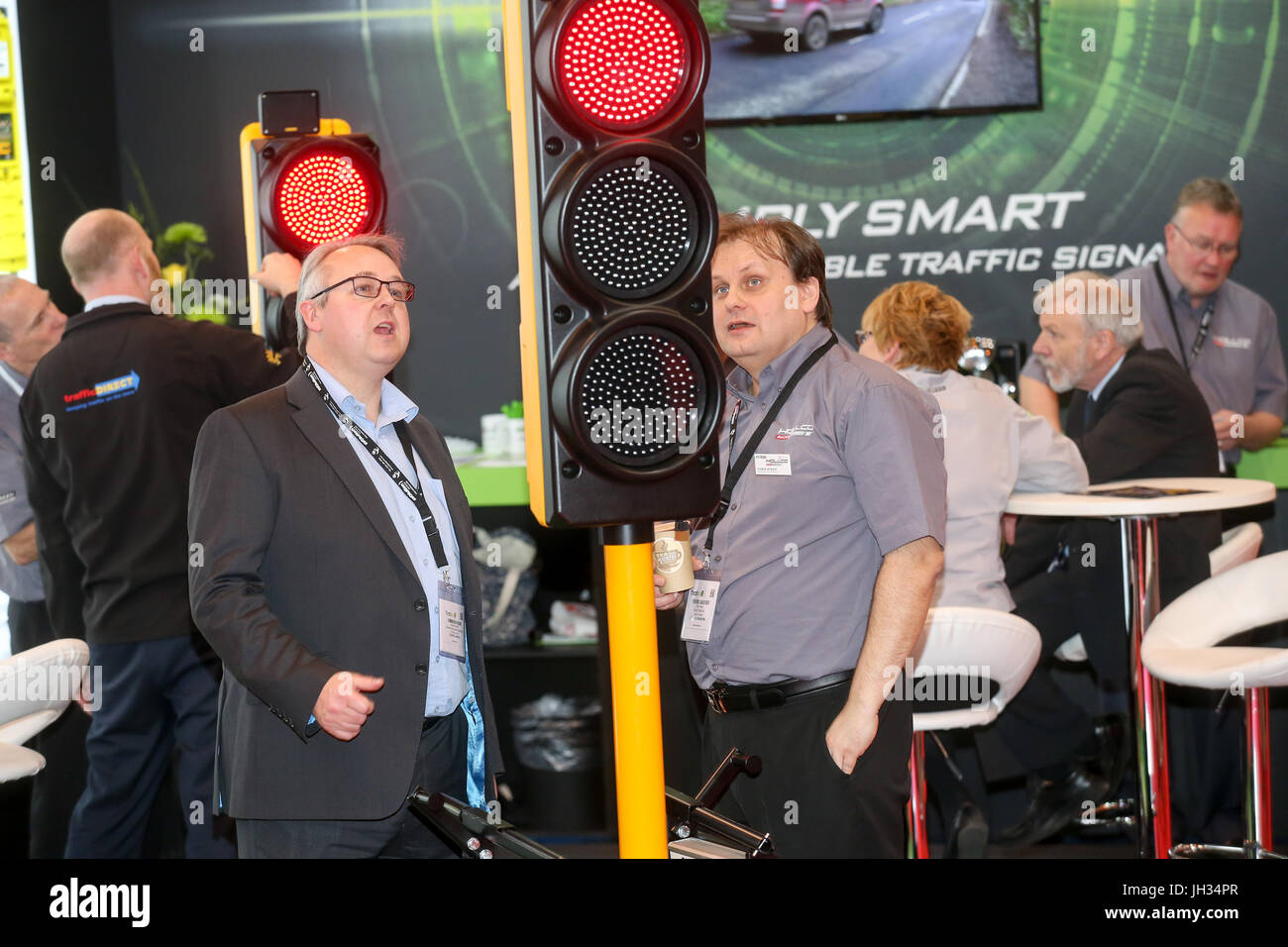 Birmingham, UK. Traffex, 2017 at the NEC. The show for road traffic management professionals featuring the latest - Stock Image