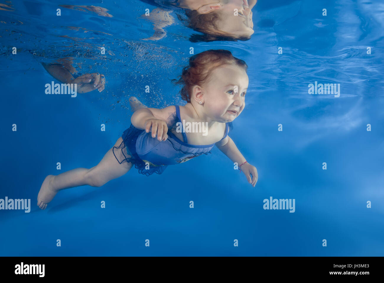 Afraid Water Swimming Pool Stock Photos Afraid Water Swimming Pool Stock Images Alamy