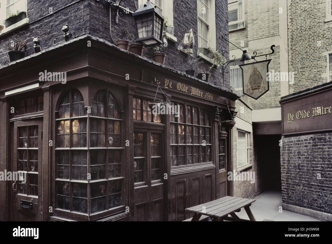 The Old Mitre Pub London