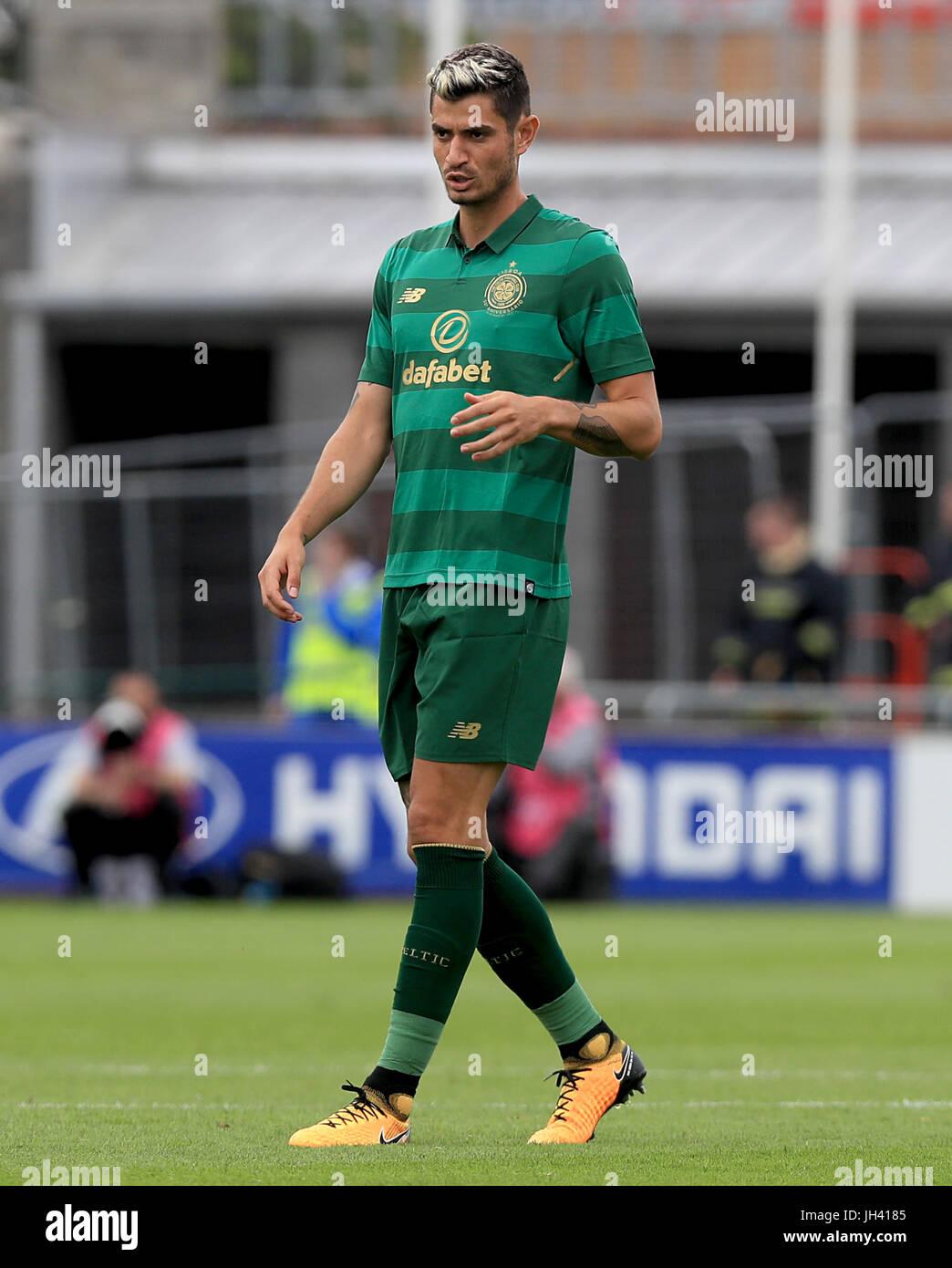 Celtic's Nir Bitton during the pre-season friendly at the Tallaght Stadium, Dublin. - Stock Image