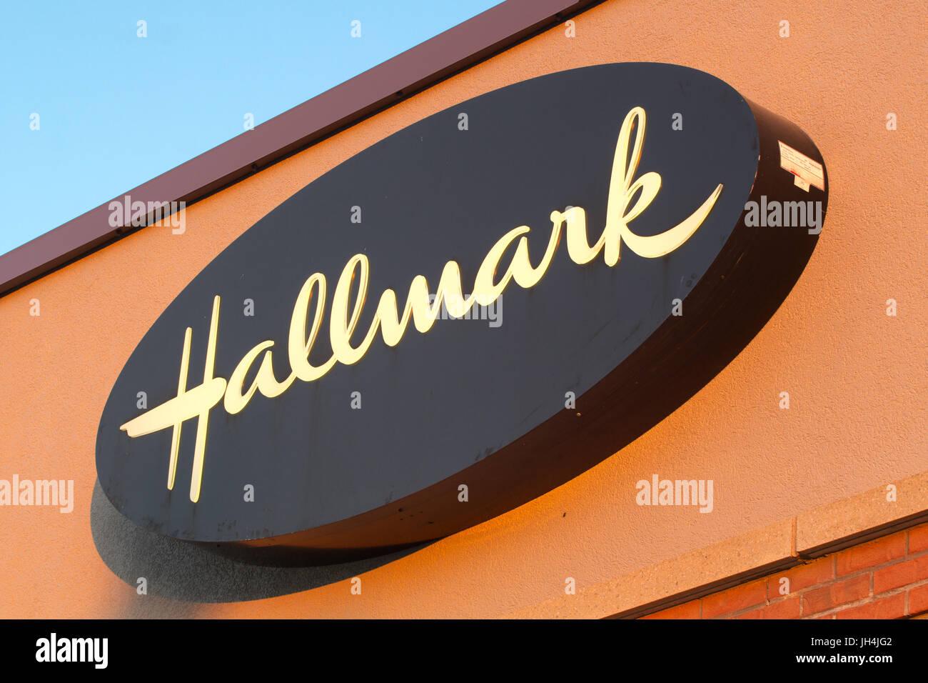 Hallmark cards stock photos hallmark cards stock images alamy dartmouth canada july 10 2017 hallmark cards inc is a m4hsunfo