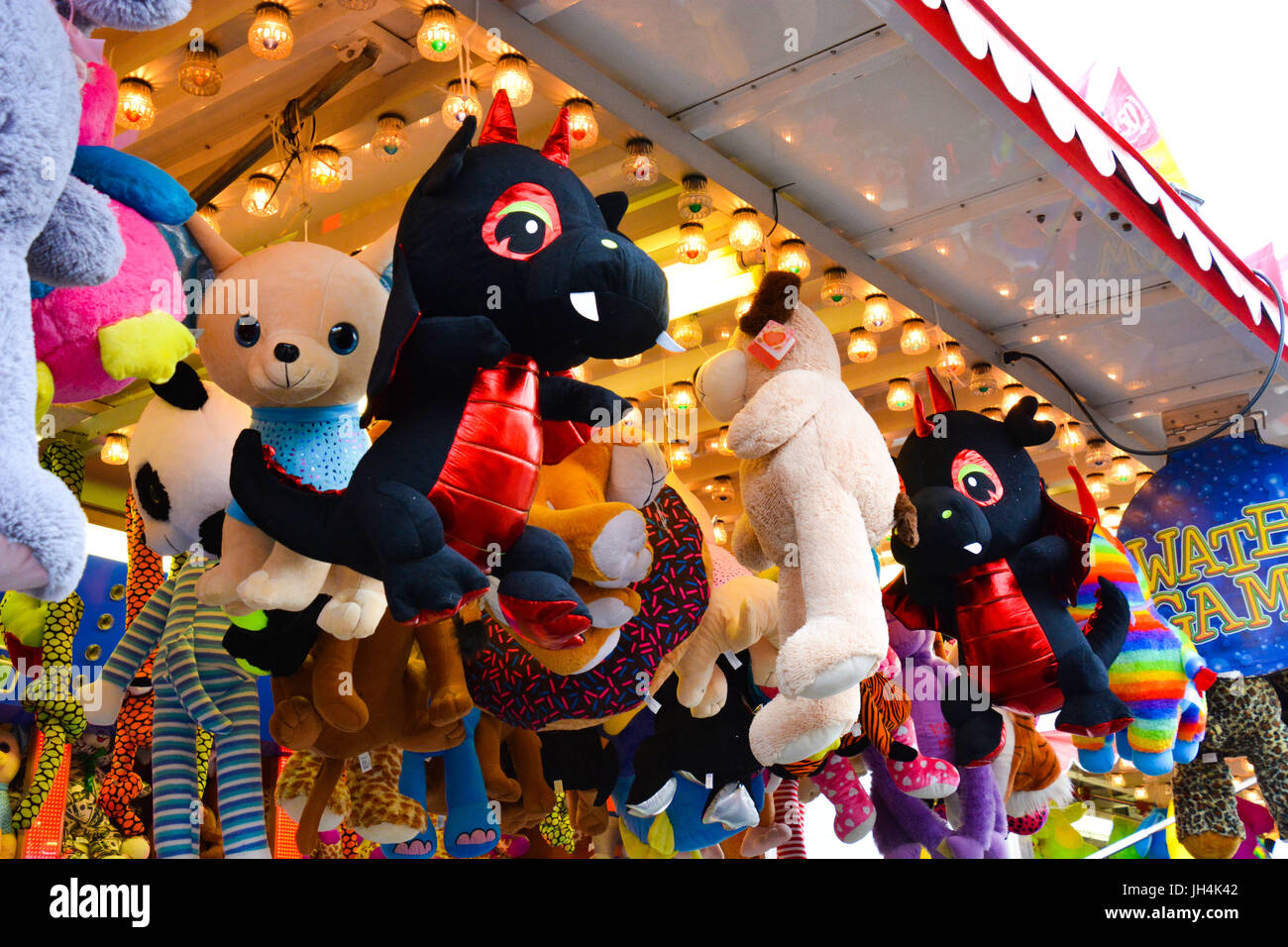 Carnival Prize Stuffed Animal Stock Photos Carnival Prize Stuffed