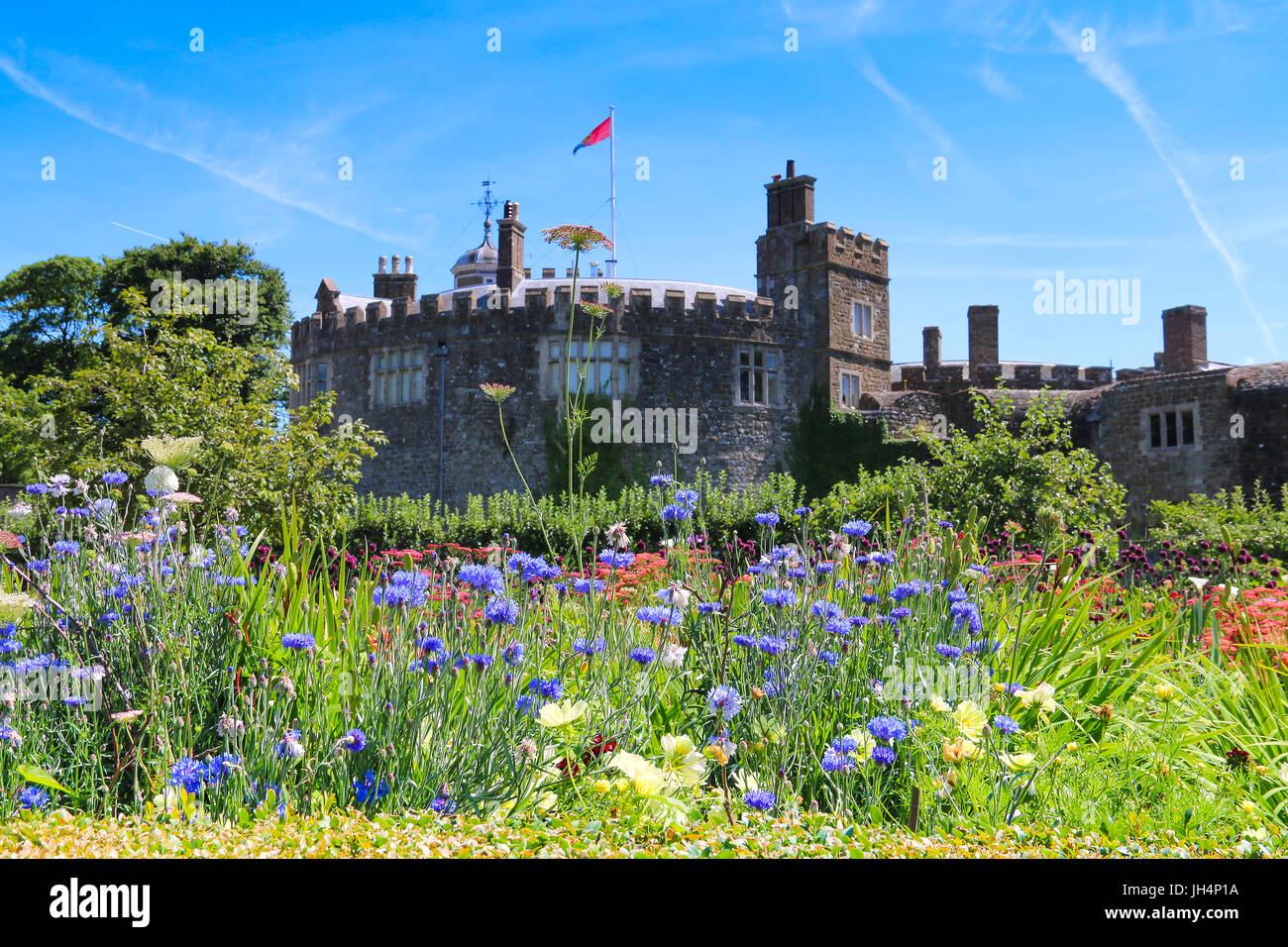 Walmer Castle Gardens July 2017 Stock Photo