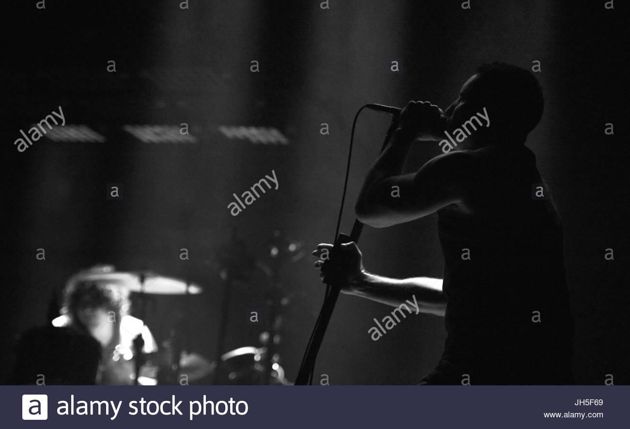 Nine Inch Nails. Nine Inch Nails brings their \