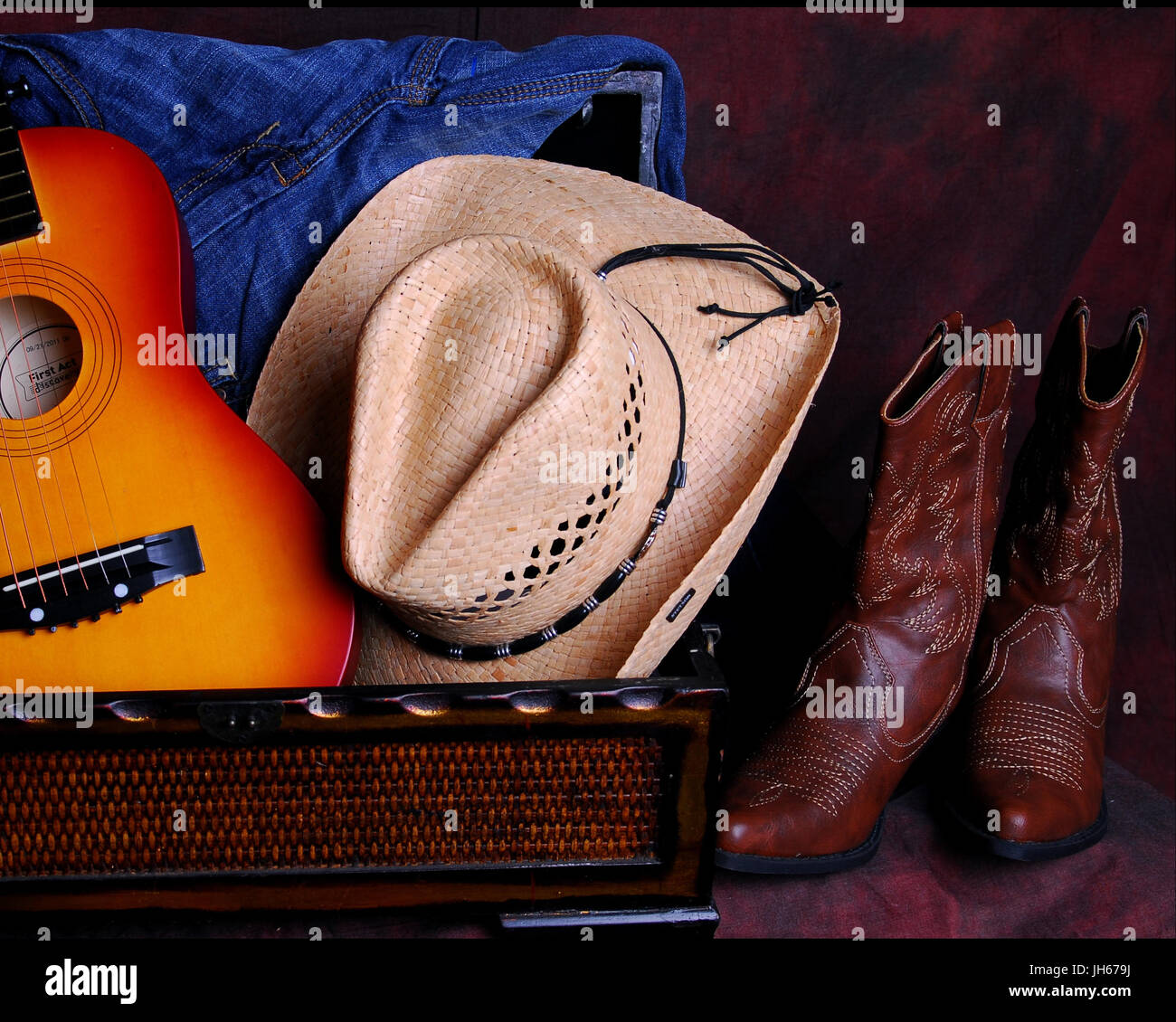 western wear - Stock Image