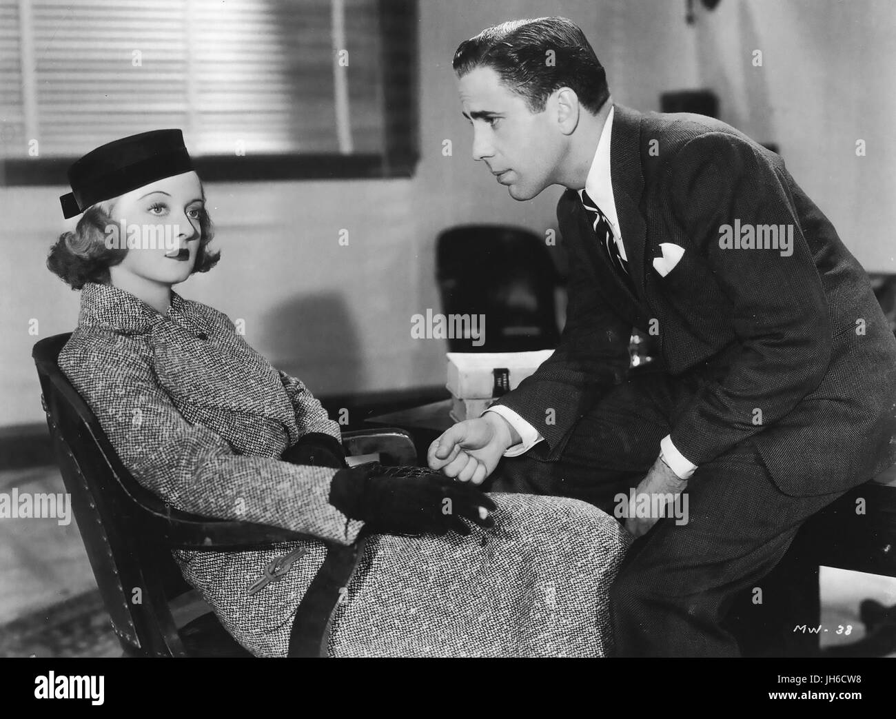 MARKED WOMAN 1937 Warner Bros film with Bette Davis and Humphrey Bogart - Stock Image
