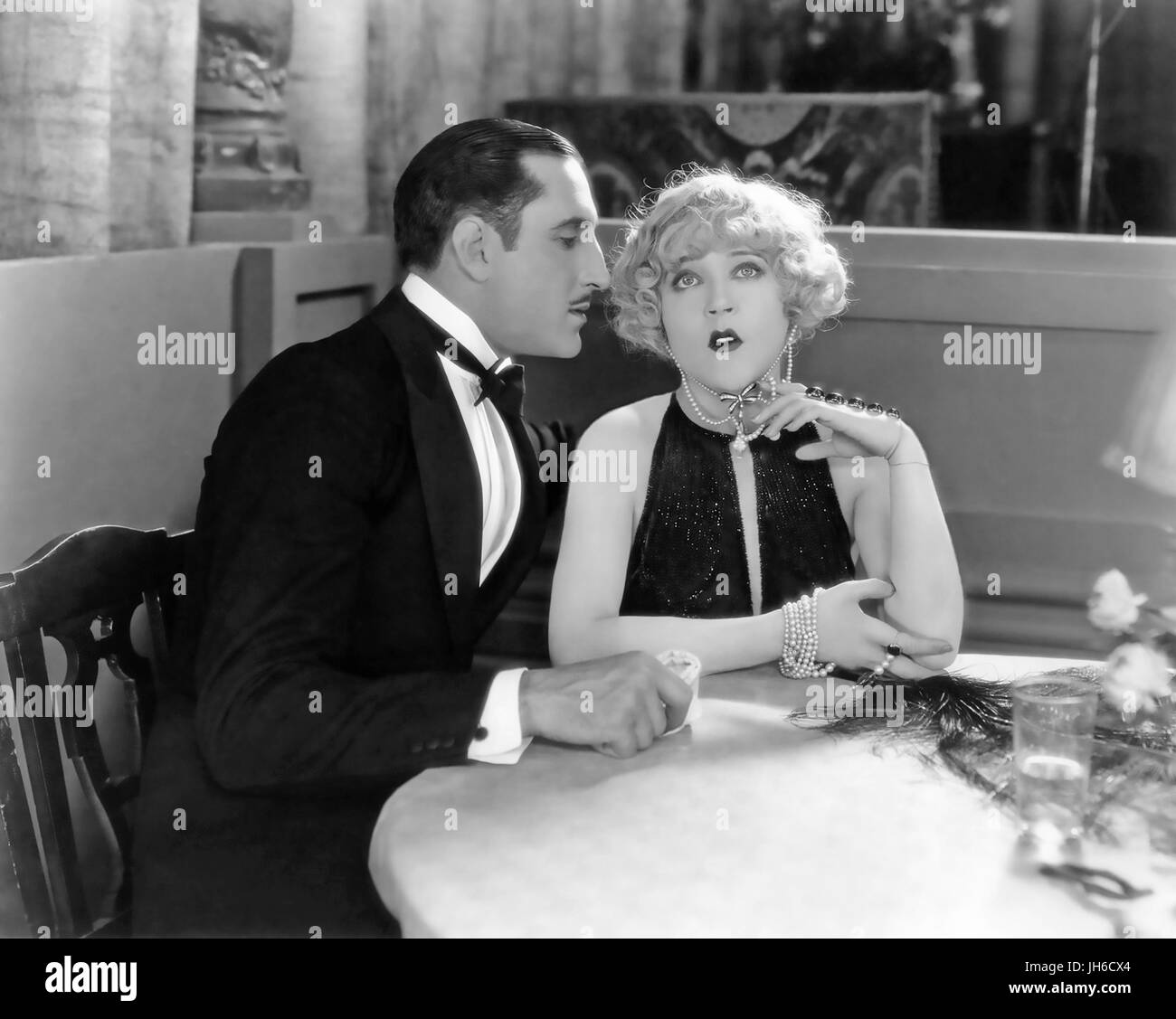 THE MASKED BRIDE 1925 MGM silent film with Mae Murray and Basil Rathbone - Stock Image