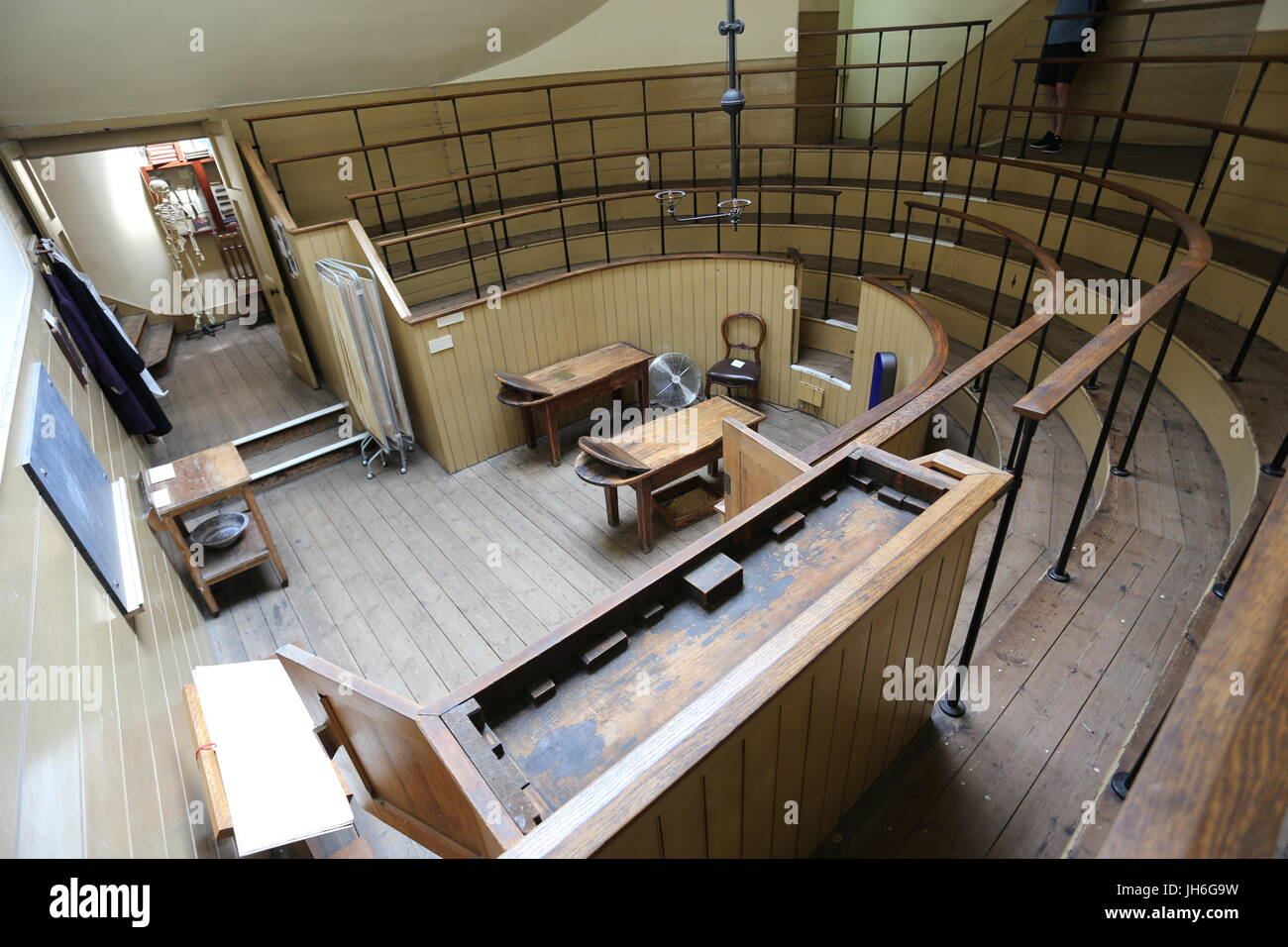Operating Theater Museum - Stock Image