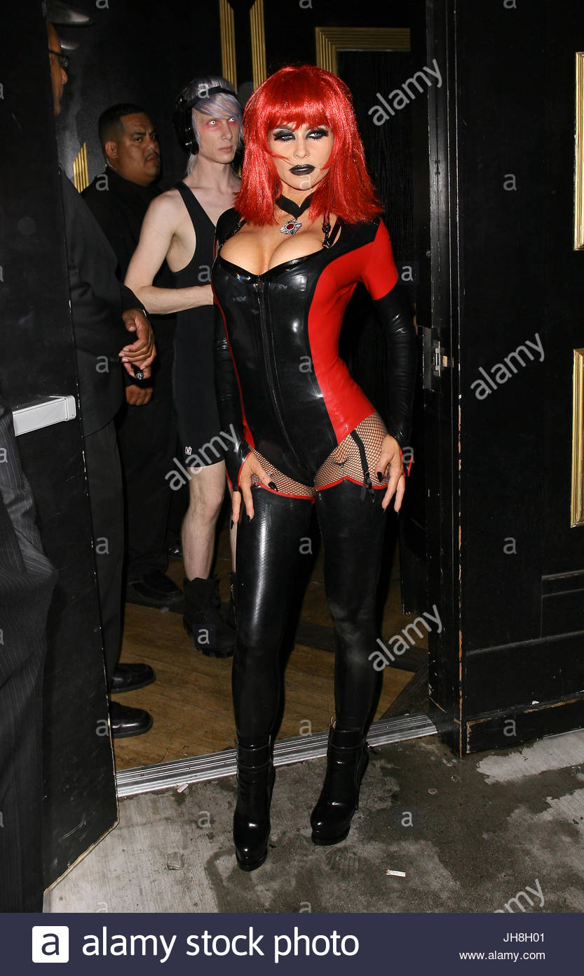 Carmen Electra. Carmen Electra attends a Halloween party at Bootsy Bellows in West Hollywood CA.  sc 1 st  Alamy & Carmen Electra. Carmen Electra attends a Halloween party at Bootsy ...