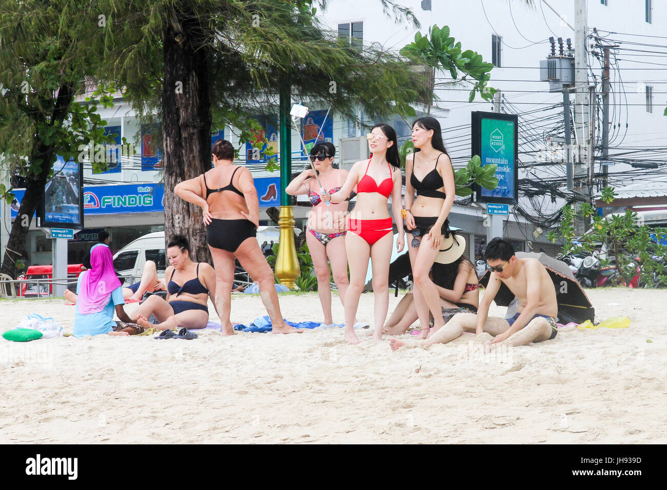 phuket beach girls