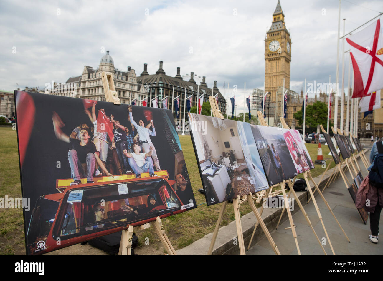 D Exhibition In London : London uk. 13th july 2017. an exhibition of photography from the