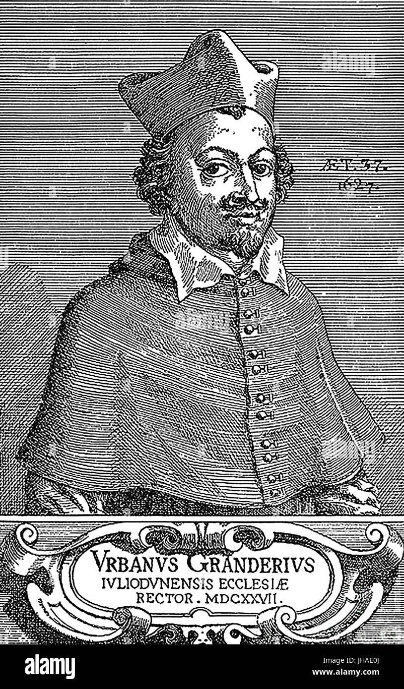 URBAIN GRANDIER (1590-1634) French Catholic priest - Stock Image