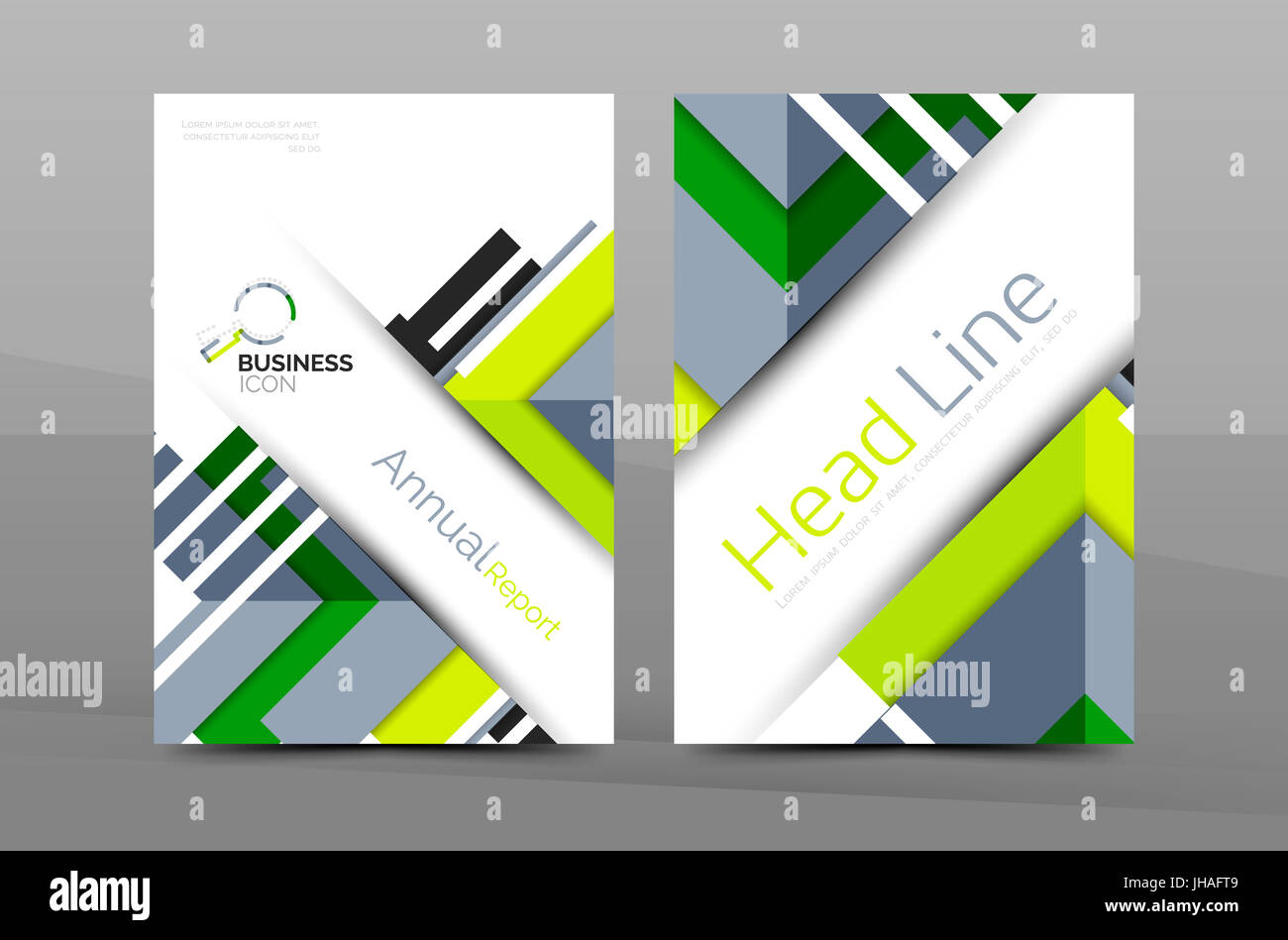 cover design of annual report cover brochure modern abstract background template layout a4 size page