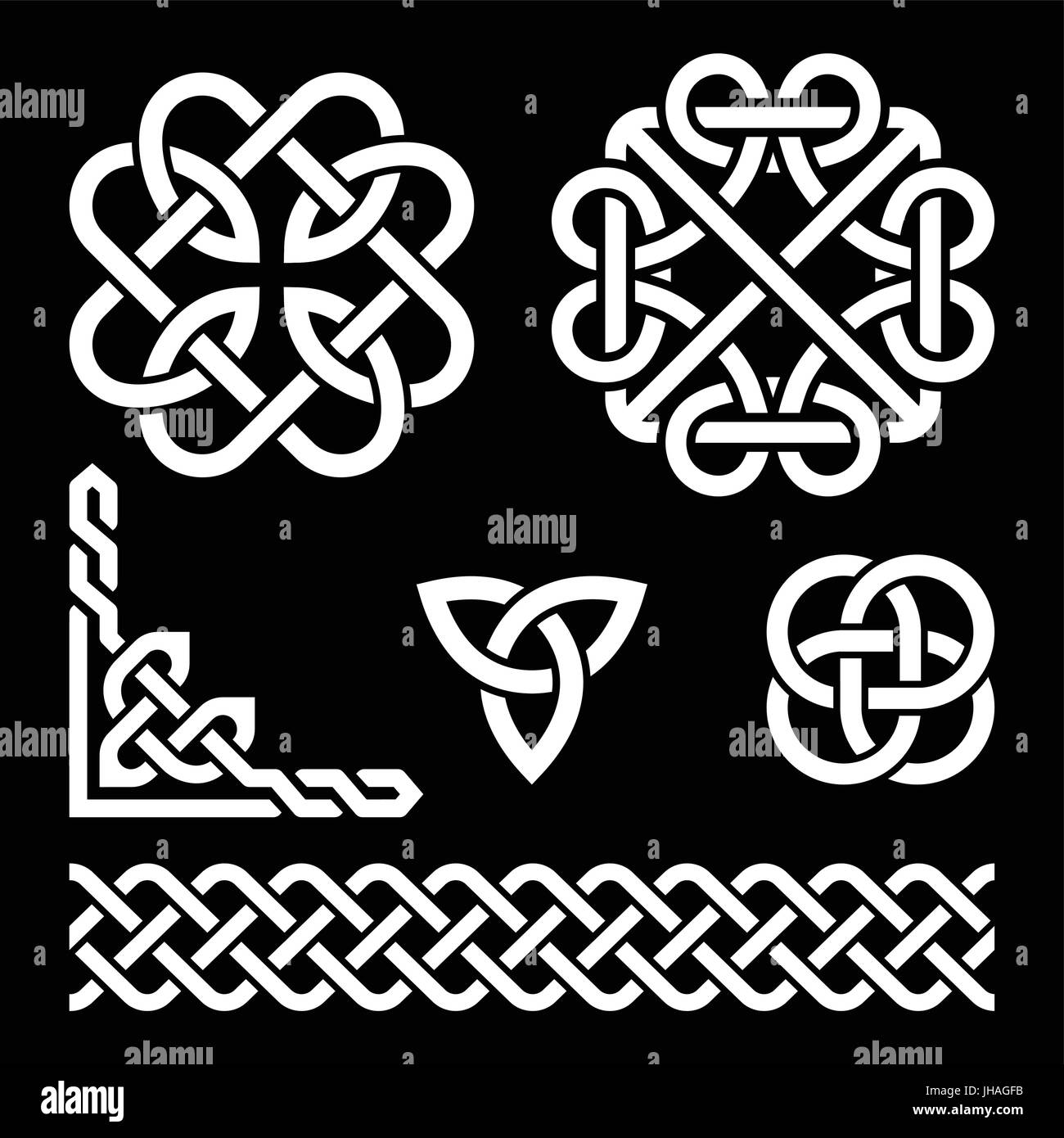 Scottish Celtic Cross Vector Sign Stock Photos Scottish Celtic