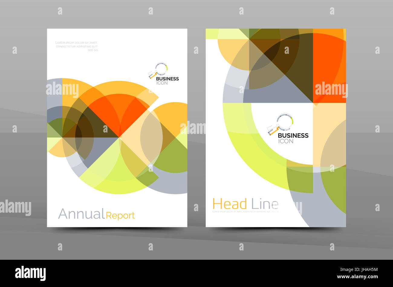 business cover page design brochure flyer layout abstract stock