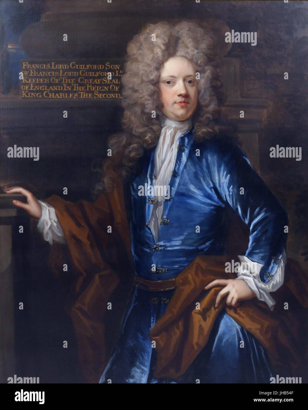 Francis North, 2nd Baron Guildford (1673-1729), circle of Thomas Murray (1663-1734) Stock Photo