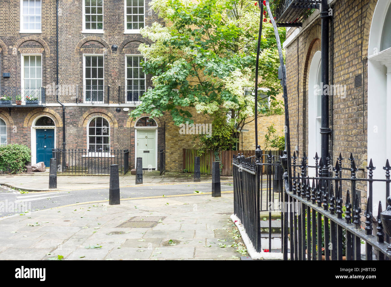 Northampton Square, Clerkenwell, London, UK - Stock Image