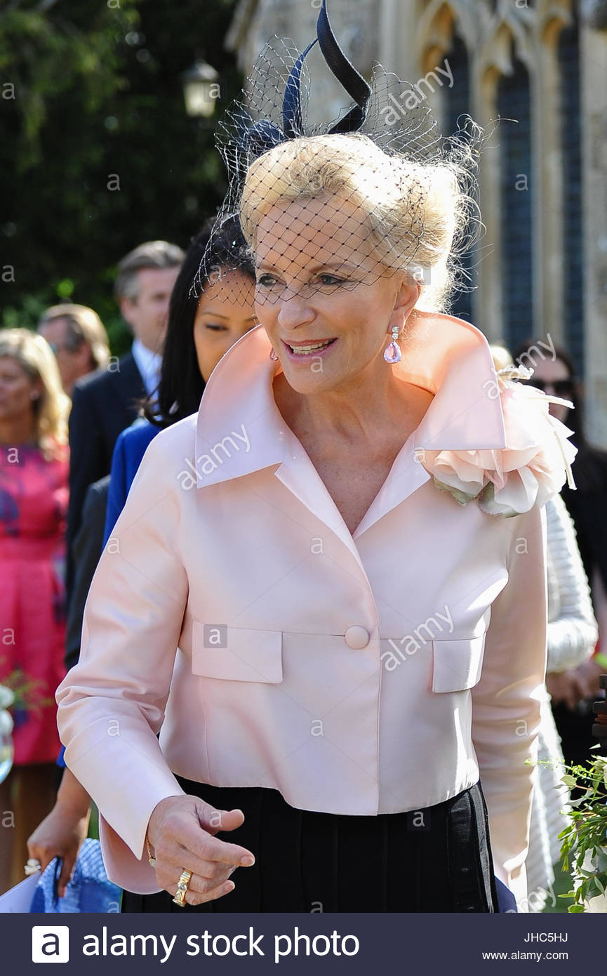 Princess Michael of Kent. The wedding took place today between ...