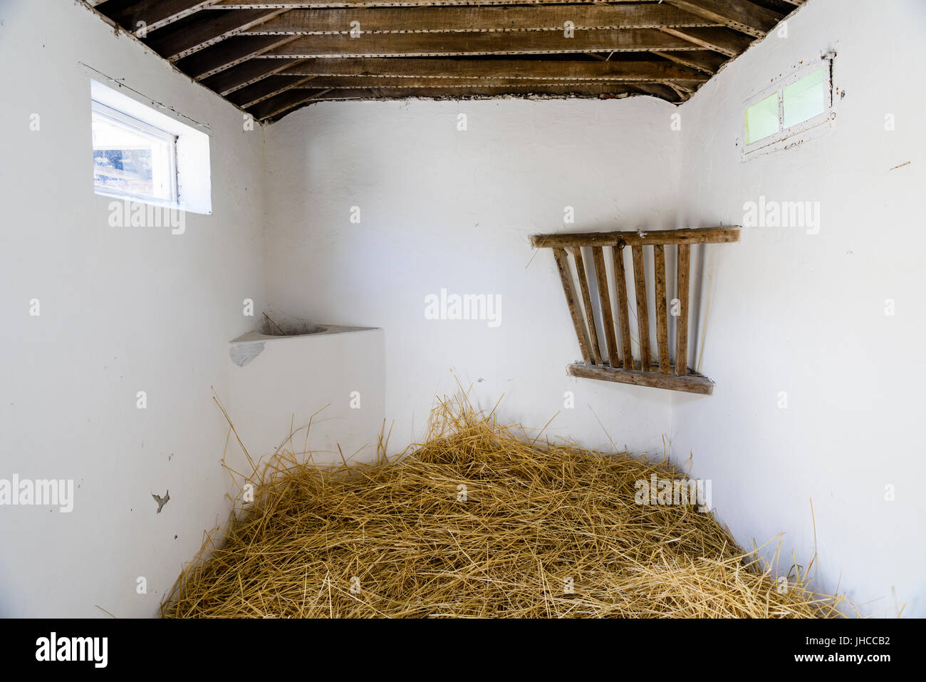 Tack room and stables at the Argory, County Armagh (no entrance fee charged) - Stock Image