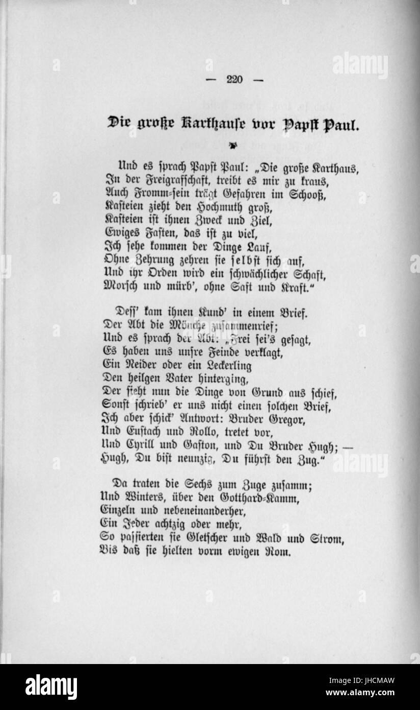 Fontane Gedichte 220 Stock Photo 148411505 Alamy